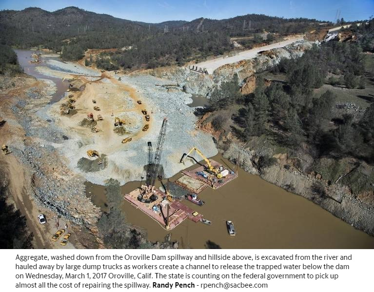 Fixing Oroville Dam will cost hundreds of millions  Who